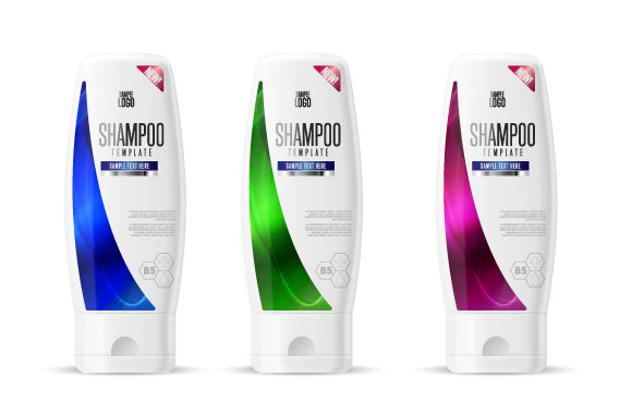 Shampoo design pack